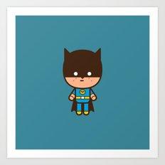 #51 The Bat man Art Print
