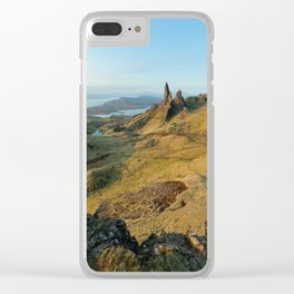 Old Man of Storr, Isle of Skye Clear iPhone Case