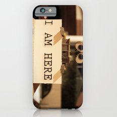 WALL-E    -  I AM HERE iPhone 6s Slim Case