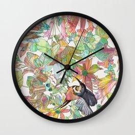 Eastern Spinebill Honeyeater Wall Clock