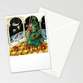 MC Escher's Christmas Tree Stationery Cards