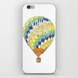 young forever iPhone Skin