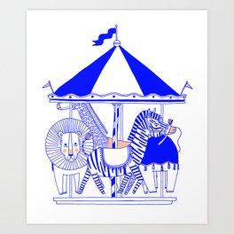 Carroussel Art Print