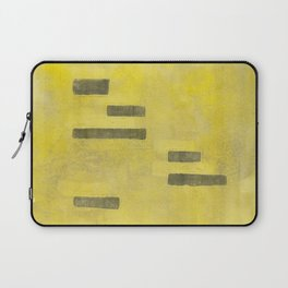 Stasis Gray & Gold 3 Laptop Sleeve
