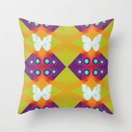 Butterflies Lux P Throw Pillow