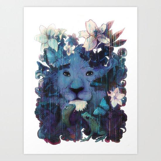 Gloomy me... Art Print