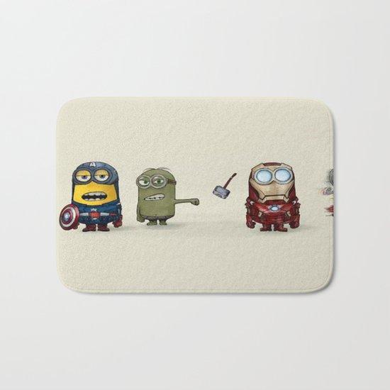 Minion Avengers Bath Mat