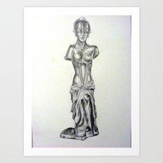 Maria De milo Art Print