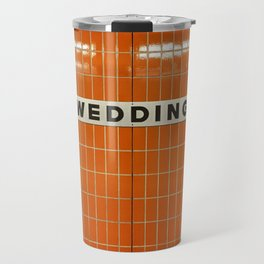 Berlin U-Bahn Memories - Wedding Travel Mug