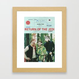 Hope Empire Return Framed Art Print