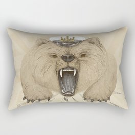 Roar of the Bear Rectangular Pillow