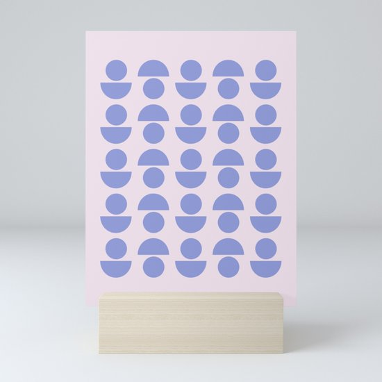 Shapes in Periwinkle by junejournal