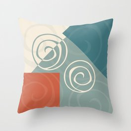 Iterations Throw Pillow