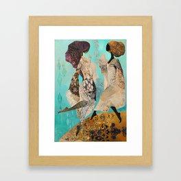 Heavenly Virgins Framed Art Print