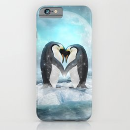 Listen Hard (Penguin Dreams) iPhone Case