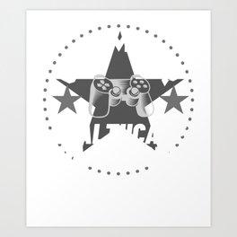 healthcare-practitioner Gamer Gift Art Print