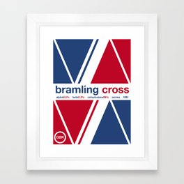 bramling cross single hop Framed Art Print