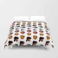 runner Duvet Covers featuring BLADE RUNNER by brucetimms