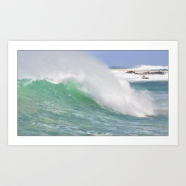 Making Waves Pillow Art Print