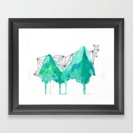 untitled (mountains) Framed Art Print