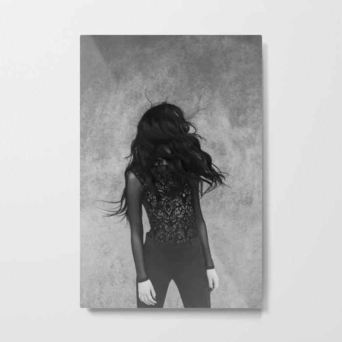 Black wind Metal Print