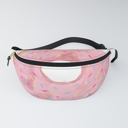 Pink Donut Fanny Pack