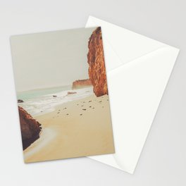 Beach Day - Ocean, Coast - Landscape Nature Photography Stationery Cards