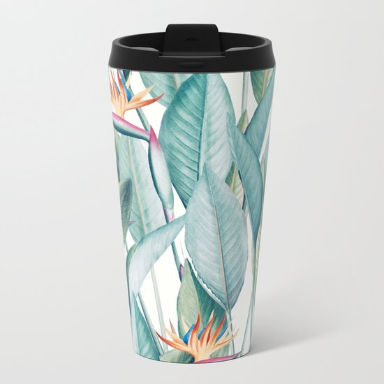 Back to Paradise Island #society6 #decor #buyart Metal Travel Mug