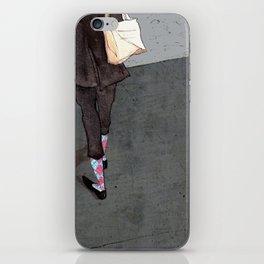 Argyle Socks by Kat Mills iPhone Skin