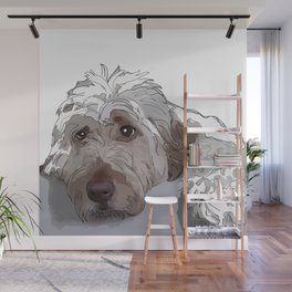 Shaggy Dog Wall Mural