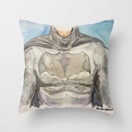 The Bat Man - Fictional Superhero Throw Pillow