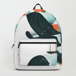 Waves of Knowledge Backpack