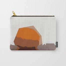 Abstract Modern Pumpkin Carry-All Pouch