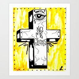 """NO ME OLVIDES"" PRINT Art Print"