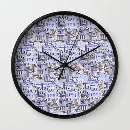 Chefchaouen Wall Clock