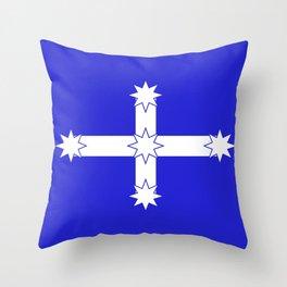 Australian Eureka Flag Throw Pillow