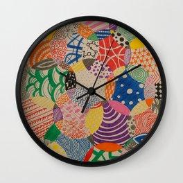 Patterns Wall Clock