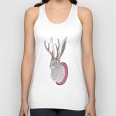 Deer Rabbit Unisex Tank Top