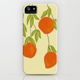 Red Mangoes 1 iPhone Case