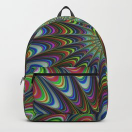 Psychedelic star Backpack