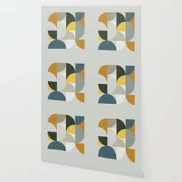 Mid Century Geometric 13 Wallpaper