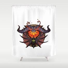 Warlock Sigil Shower Curtain