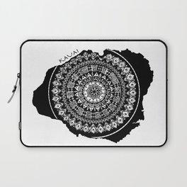 The Island of Kauai [Tribal Illustration] Laptop Sleeve