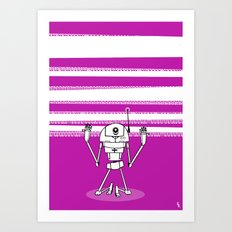 Binary Divine Art Print