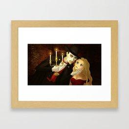 Let your fantasies unwind Framed Art Print