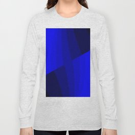 Just Blue #decor #society6 Long Sleeve T-shirt