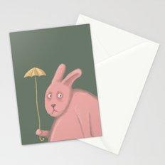 Sad Bunny  Stationery Cards