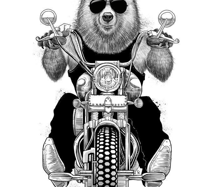 carefree bear Metal Travel Mug