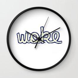 Woke SJW activist BLM Wall Clock