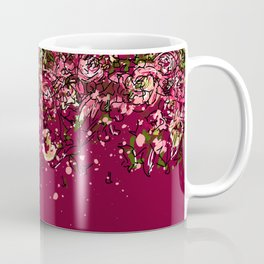 Purple drooping flowers Coffee Mug